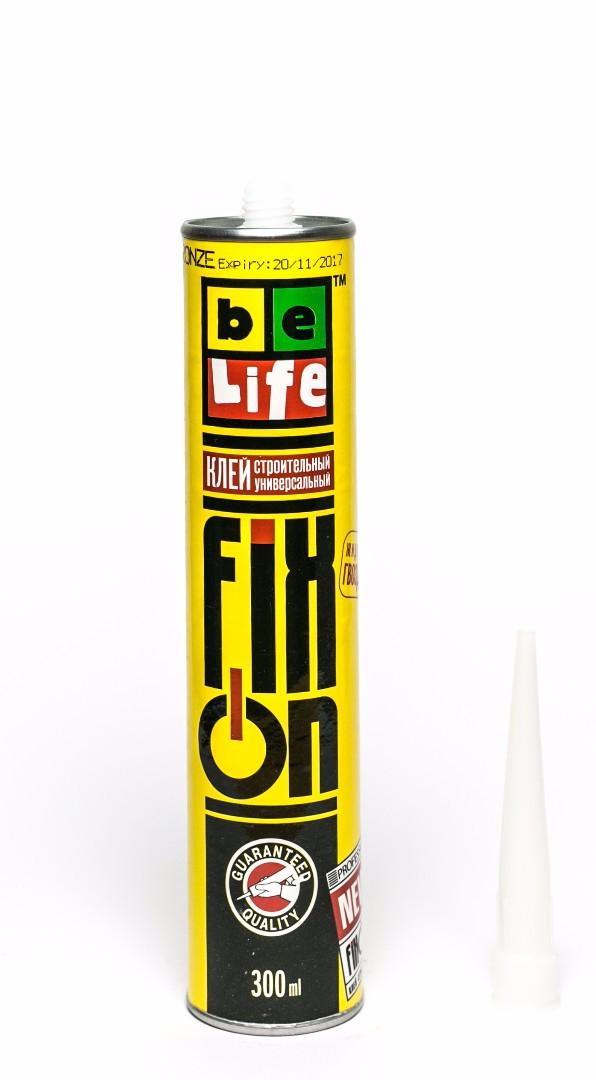 Универсальный монтажный клей полиуретановый BeLife на основе синтетического каучука 300мл (FIXON) - фото 1