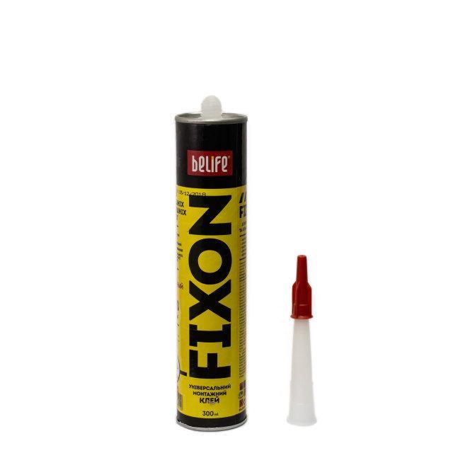 Универсальный монтажный клей полиуретановый BeLife на основе синтетического каучука 300мл (FIXON) - фото 3