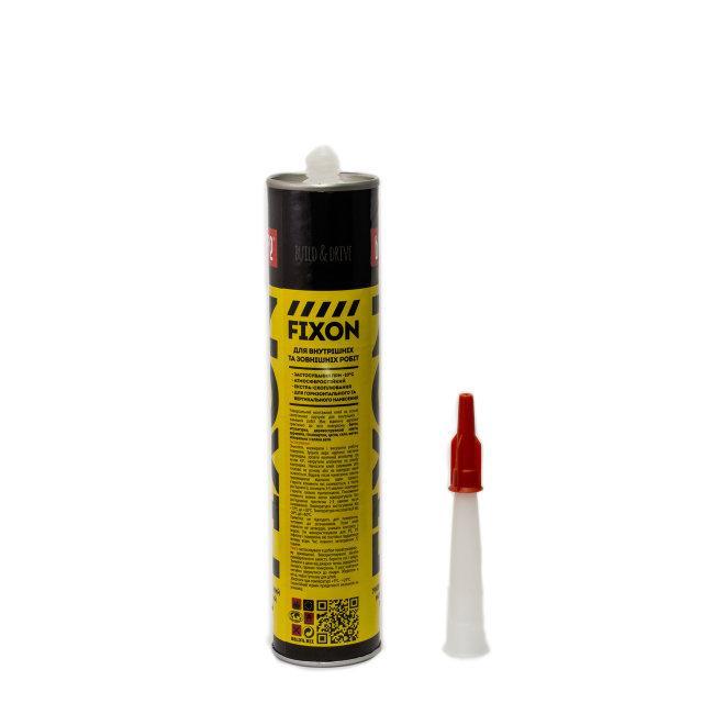 Универсальный монтажный клей полиуретановый BeLife на основе синтетического каучука 300мл (FIXON) - фото 4