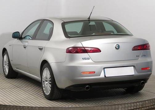 Заднее стекло Alfa Romeo 159 (2005-2011) Седан с местом под стоп-сигнал
