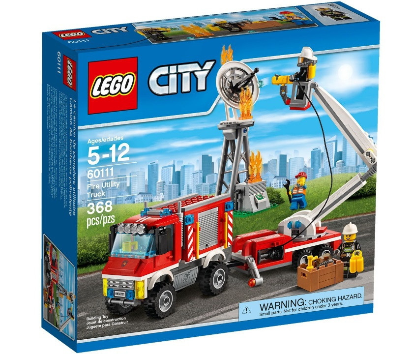 Lego City Автомобіль пожежників 60111