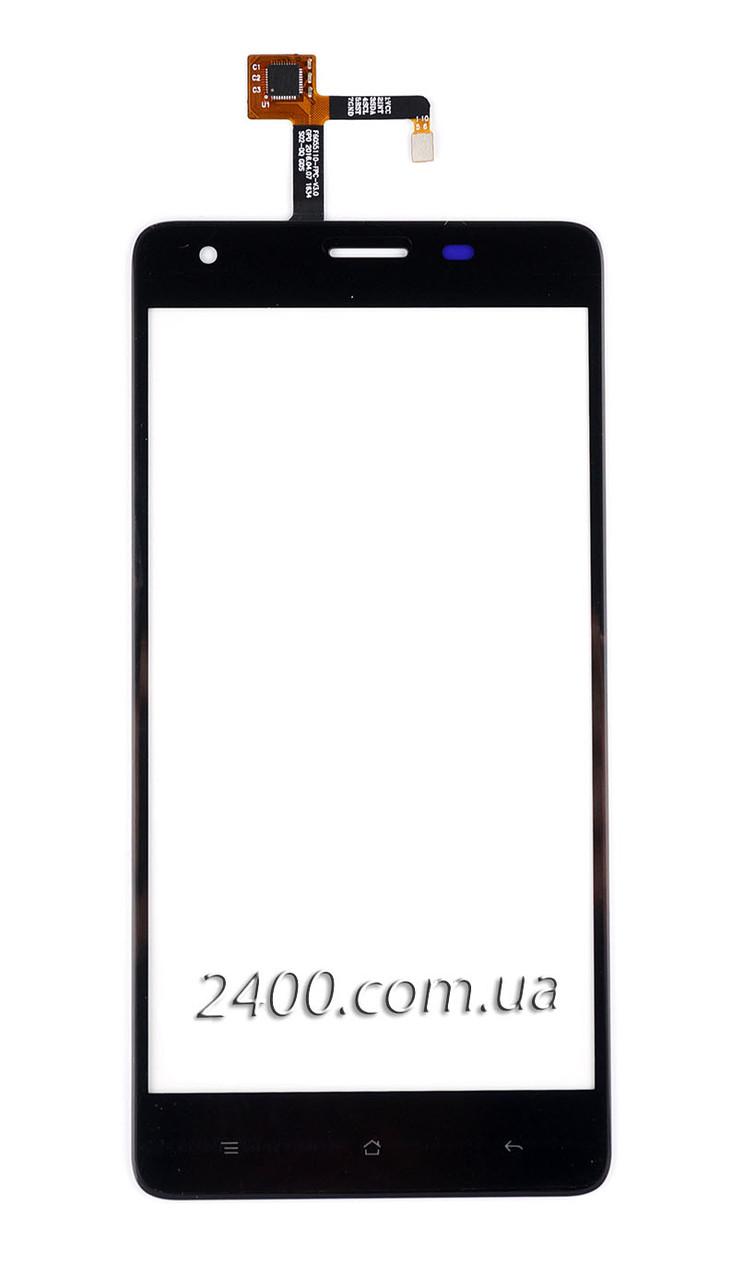 Тачскрин (сенсор) для телефона Oukitel K6000 Pro черный