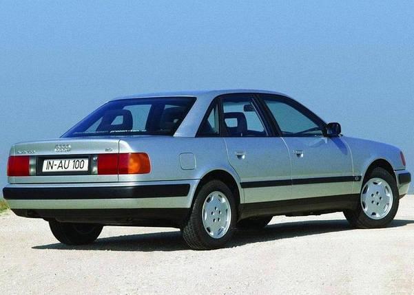 Заднее стекло Audi 100 (в кузове А6) (1991-1994) Комби с привулканизированным молдингом, фото 2