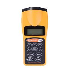 Ультразвуковой дальномер с лазерной указкой с LCD Спартак CP-3007