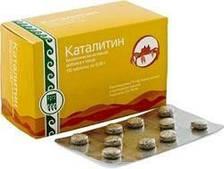 Каталитин 40 таб Арго (хитозан, натуральный комплекс для снижения веса, похудение, ожирение, липидный обмен)