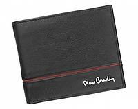 Портмоне мужское Pierre Cardin (824 RFID) кожаное черное оригинал, фото 1