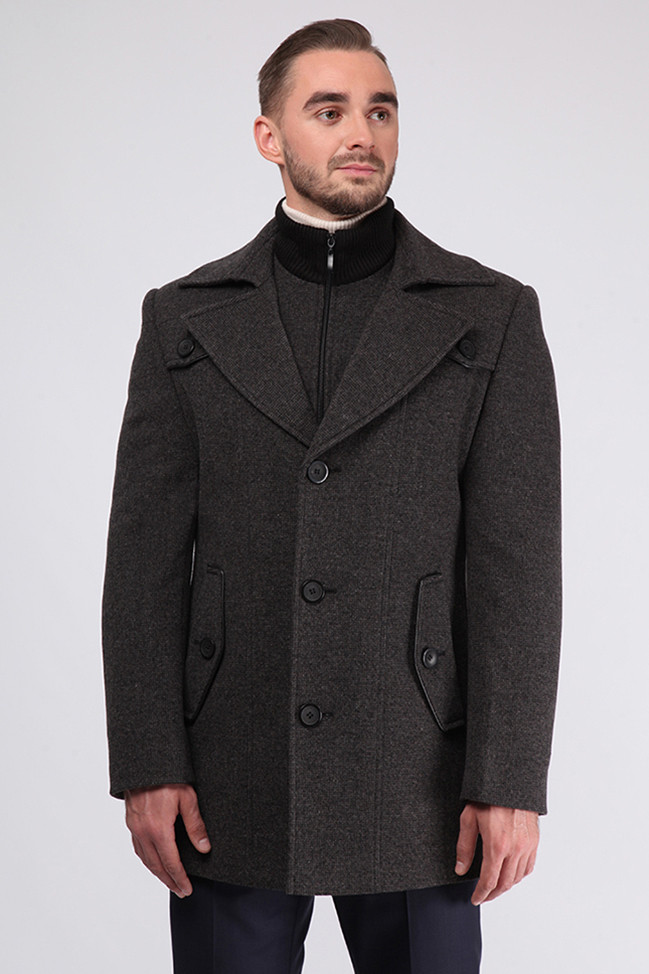 Мужское пальто D-420 (Viking) - Sun s House в Киеве d4784e352d9b6