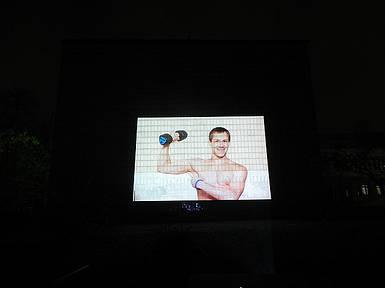 Видеопроектор для проекционной рекламы на здании  «OМP-11»