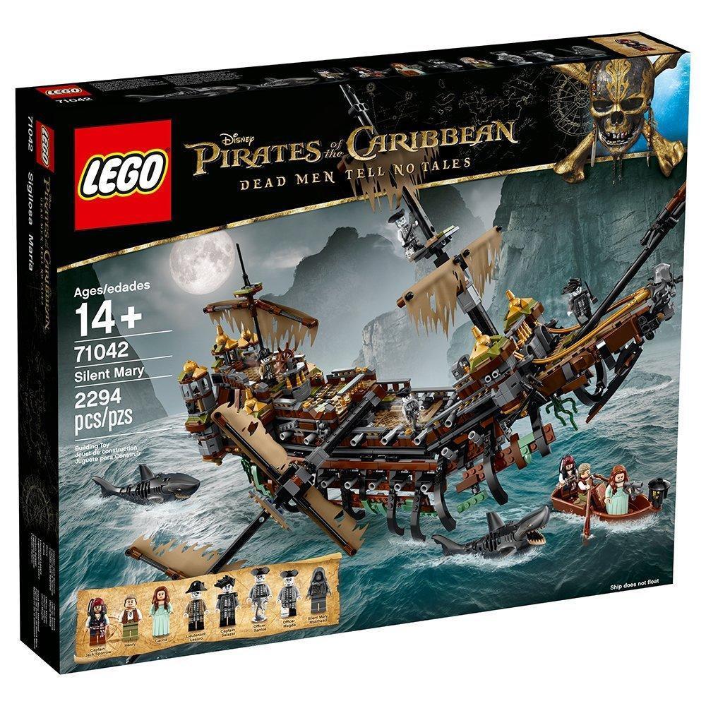 Lego Pirates of the Caribbean Тихая Мэри 71042