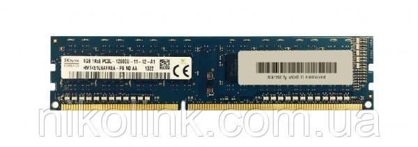 Память Hynix DDR3 4GB PC3L-12800U (1600Mhz) (HMT451U6AFR8A-PB)(8x1)комиссионный товар