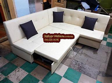 Кухонный уголок = кровать Квадро крупный квадрат