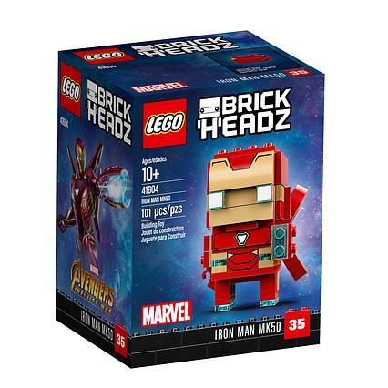 Lego BrickHeadz Залізна людина MK50 41604