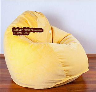 Кресло мешок груша Флок. Желтый.