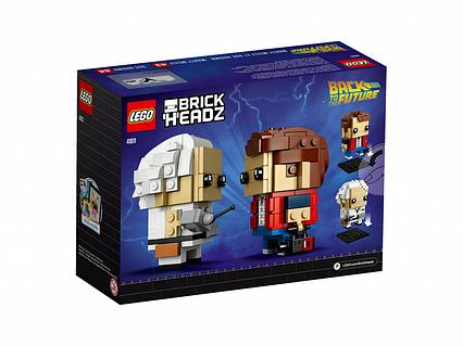 Lego BrickHeadz Марті Макфлай і Доктор Браун 41611
