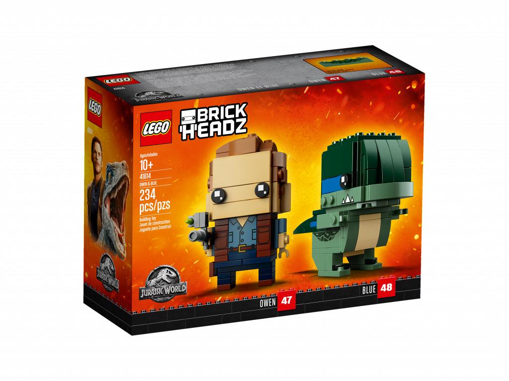 Lego BrickHeadz Оуэн и Блю 41614