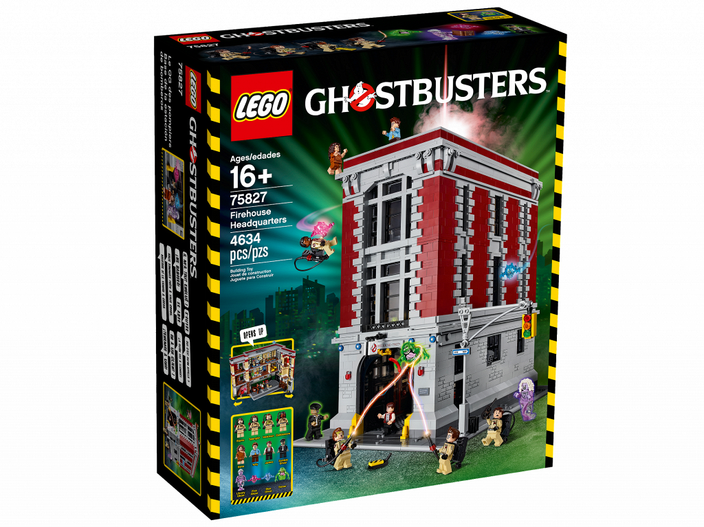 Lego Ghostbusters Штаб-квартира Мисливців за привидами 75827