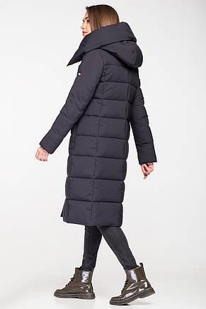 Модная зимняя женская куртка KATTALEYA KTL-267 темно-синяя (#C16), фото 2