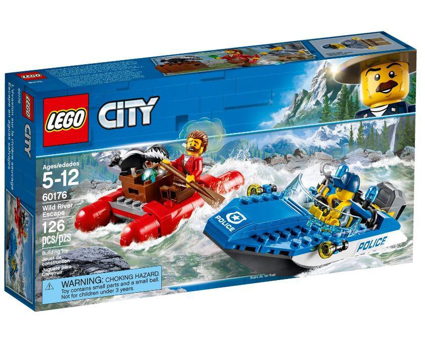 Lego City Гонитва по гірській річці 60176
