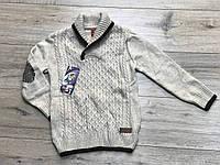 Вязаный свитер для мальчиков. 5/6 лет.