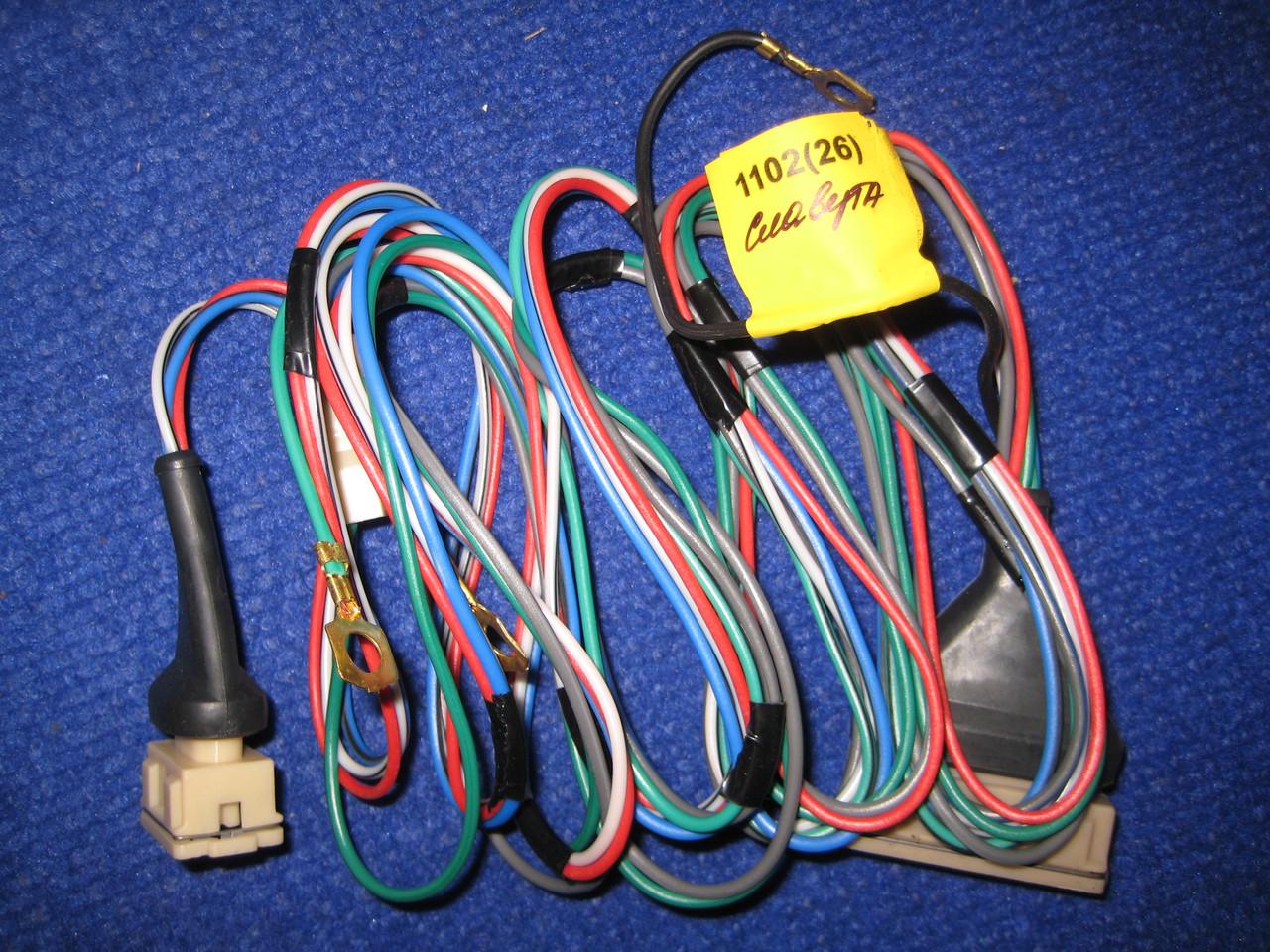 Провода подключения коммутатора Славута ЗАЗ 1103 1105