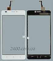 Тачскрин (сенсор) для телефона Oukitel C3 белый
