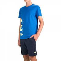 Комплект детский (шорты, футболка) Lotto MARCUS VI KIT B  BLUE SPOT/NAVY T3369