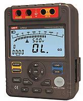 Мегаомметр UT512 (от 0,5 МОм до 100 000 МОм; от 500 до 2500 В) UNI-T  (mdr_0557)