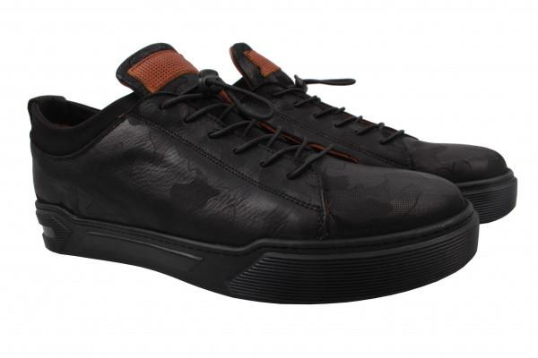 Туфли комфорт Ridge натуральная кожа, цвет черный