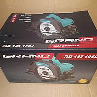 Пила дисковая Grand 185-1950