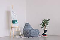 Кресло-мешок груша 120*90 см в ткани Индия