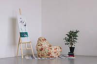 Кресло-мешок груша 120*90 см из велюра Мартина