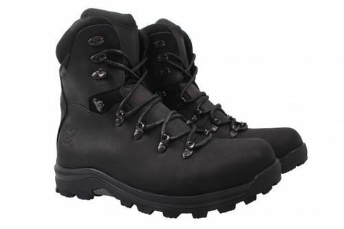 Ботинки Golovin натуральная кожа, цвет черный