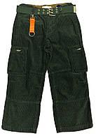 Брюки 3В Street Boy Утеплённые Вельветовые Зелёные
