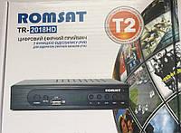 Цифровой эфирный DVB-T2 ресивер Romsat TR-2018HD