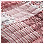 IKEA VARRUTA Покрывало, белый, розовый  (403.819.22), фото 3
