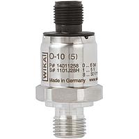 Датчик тиску WIKA 0-10 бар 4..20 мА G1/4 роз'єм M12*1 тип O-10