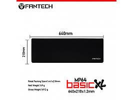 Ігрова поверхня, килимок 640*210 Fantech SVEN MP64 XL з бічною прошивкою 3 мм