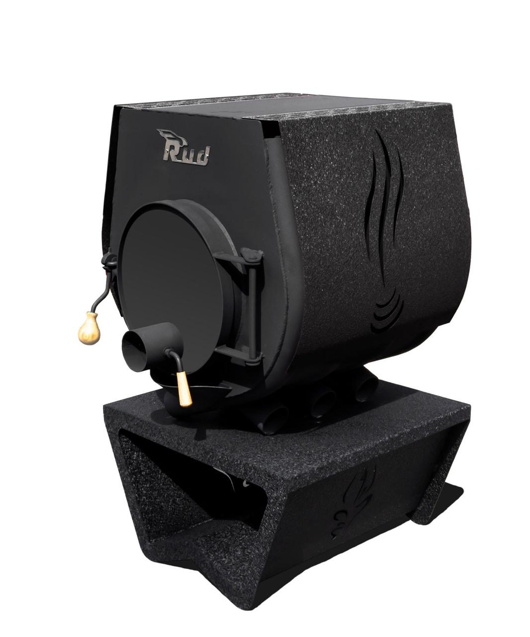 Опалювальна конвекційна піч Rud Pyrotron Кантрі 01 з варильною поверхнею (опалювальна площа 80 кв. м.)