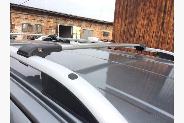 Перемычки на рейлинги под ключ (2 шт) - Mercedes Vito W638 1996-2003 гг.