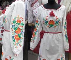 Женское платье вышиванка цветы, фото 2