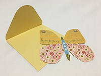 Открытки Бабочками с конвертом