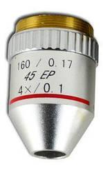 Объектив для микроскопа Kronos 4х / 0.1 160 / 0.17 45 ЕР (ахроматический, не иммерсионный) (mdr_0624)