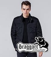 Braggart Evolution 3898 | Мужская ветровка черная