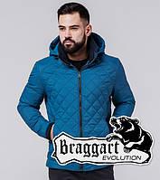 Braggart Evolution 1652   Мужская ветровка бирюзовая