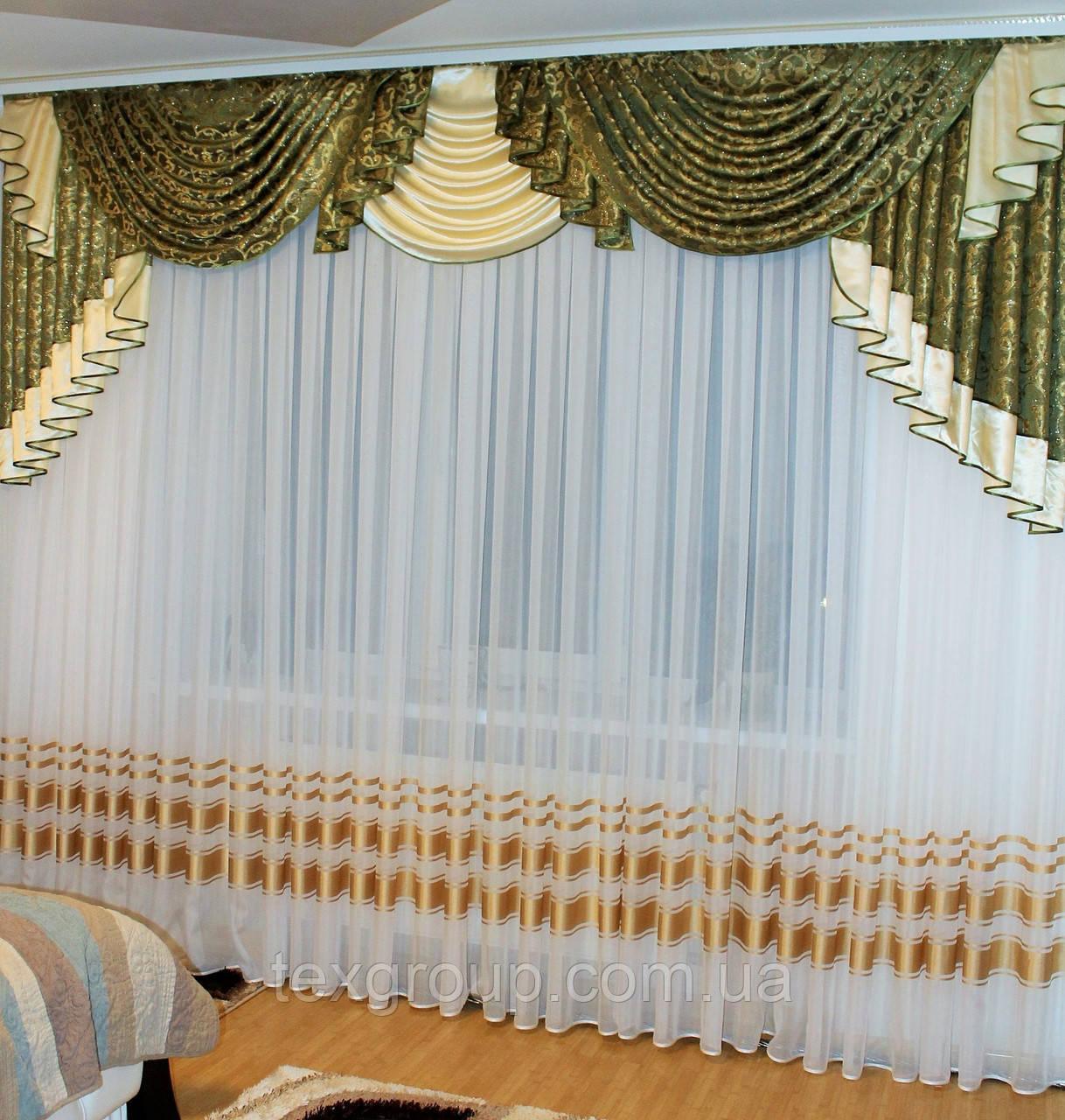 фото ламбрекен в зал