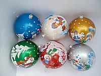 Украшение на елку шары новогодние Персонажи 10 см