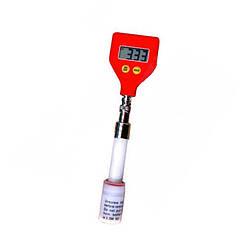 РН метр Kelilong Electron РН-98109 BNC для измерения рН поверхностей с плоским выносным электродом (mdr_2281)