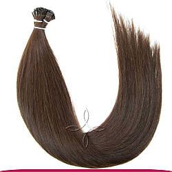Натуральные Славянские Волосы на Капсулах 40 см 100 грамм, Шоколад №03