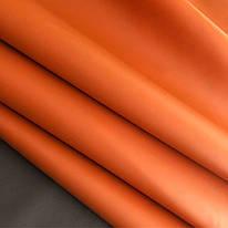 Оранжевая . Обувная и галантерейная кожа