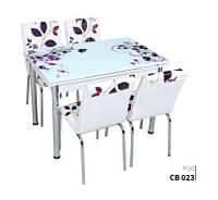 Обеденный набор с раскладным столом Листья Лотос-М